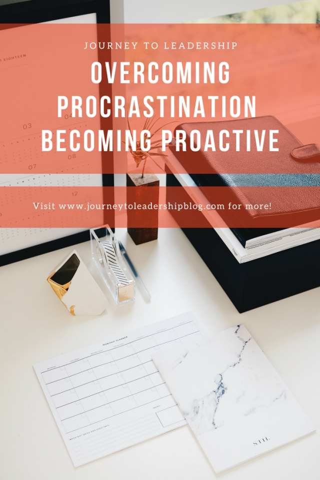 Overcoming Procrastination & Becoming More Proactive
